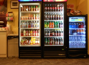 Eastman House Cafe's Coolers in December, 2011