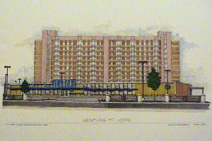 Mt. Hope Wegmans proposed architect drawing